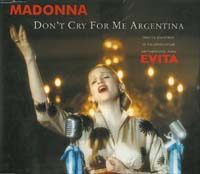 Madonna Don't Cry For Me Argentina - GER MCD 579714