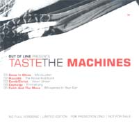 Various Artists / Sampler Taste The Machines - Promo CD 587167